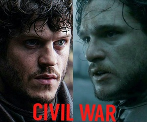 civil war, lol, and game of thrones image