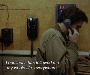 sad, quotes, and lonely image