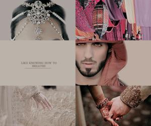 e, renee ahdieh, and khalid image