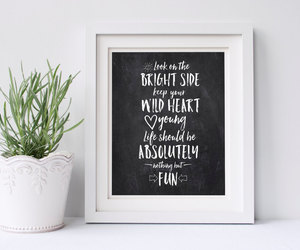 chalkboard, etsy, and fun image