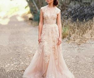 lace, weddingdress, and bohemian image