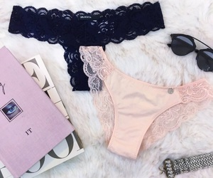 lace, lingerie, and panties image