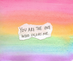 quote, color, and colors image