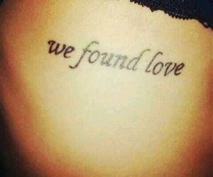 tattoo, love, and rihanna image