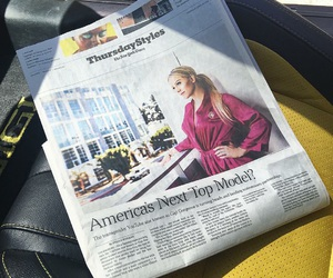 gorgeous, Paper, and news image