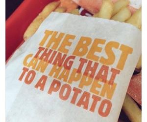 funny, potato, and crush image