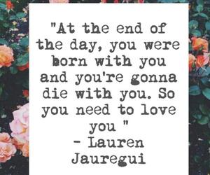 quote, lauren jauregui, and fifth harmony image