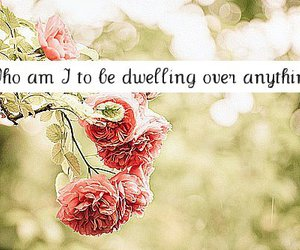 floral, girls, and quotes image