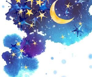 dreams, good night, and stars image