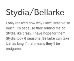 bellamy, cw, and lydia image