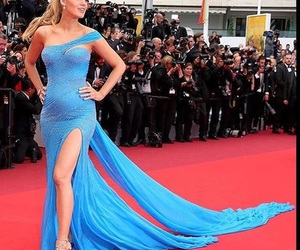 blake lively, cannes, and Versace image