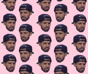 background, Drake, and jumpman image