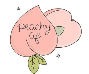 peach, peachy, and aesthetic image