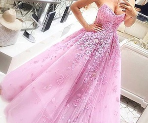 Prom, dress, and pretty image