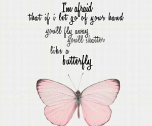 bts, butterfly, and Lyrics image