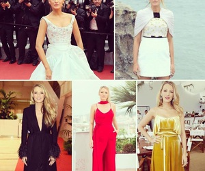blake lively, cannes, and dresses image
