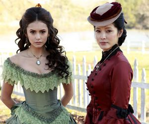tvd and katherine pierce image