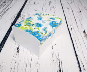 blue wedding, trinket box, and trinketbox image
