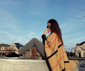 blogger, brunette, and fashion image