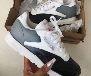 sneakers, shoes, and black image