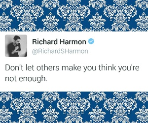 quotes, twitter, and richard harmon image