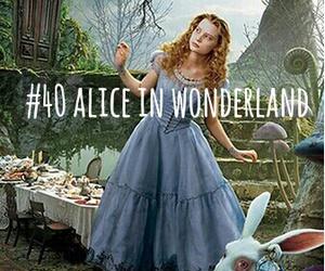 alice, johny depp, and movie image