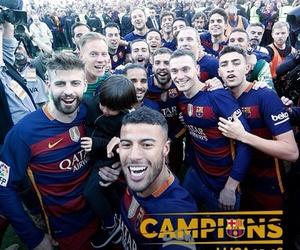 Barcelona, football, and messi image