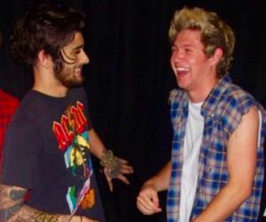 zayn malik, niall horan, and one direction image