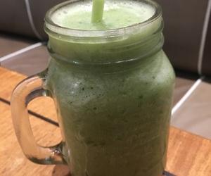 drinks, green tea, and iced tea image