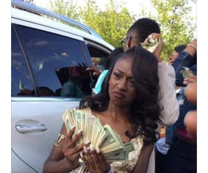 Prom, girl, and money image
