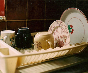 vintage, photography, and dishes image