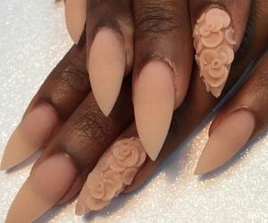 beauty, nail art, and woman image