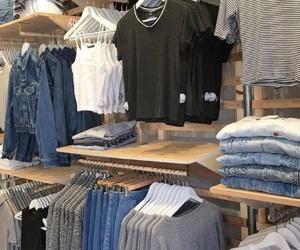 blue, clothes, and denim image