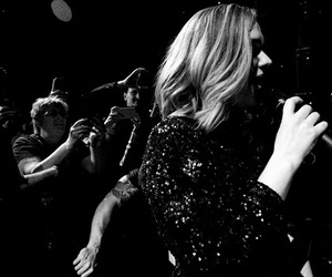 Adele, beauty, and nyc image