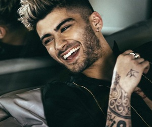 zayn, zayn malik, and smile image
