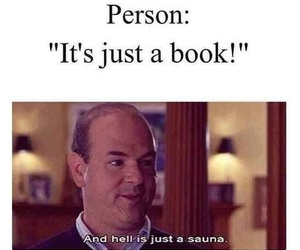 book, hell, and funny image