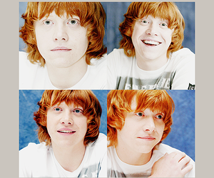 redheads, weasley, and ron image