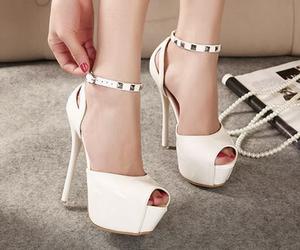 fashion, heel, and love image