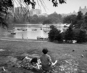 1950's, Central Park, and new york image