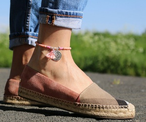 ankle, bohemian, and casual outfit image
