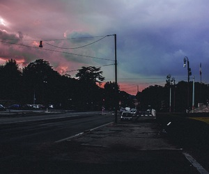 sky, grunge, and indie image