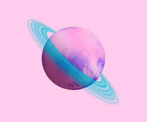 pink, wallpaper, and planet image