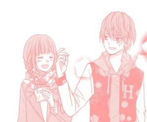 blush, manga, and pastel image