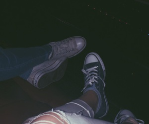 best friends, chuck taylor, and converse image