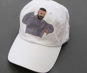 Drake, hotline bling, and cap image