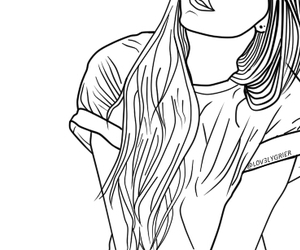 grunge and outline image