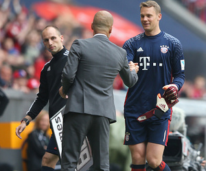 goalkeeper, manuel neuer, and fcb image