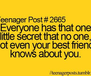 secret, quote, and best friends image