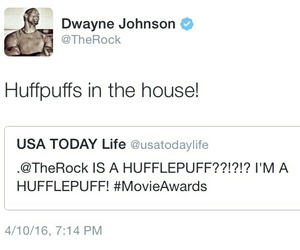 harry potter, twitter, and hufflepuff image