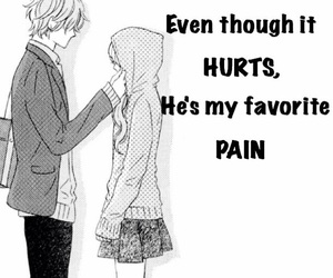 anime, hurts, and pain image